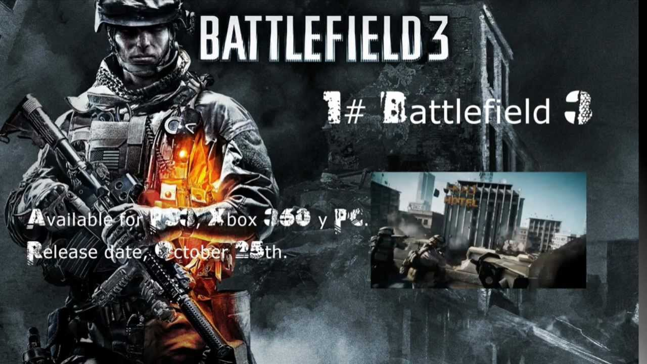 Top 5 Shooting Games Of 2011! PC PS3 Xbox 360