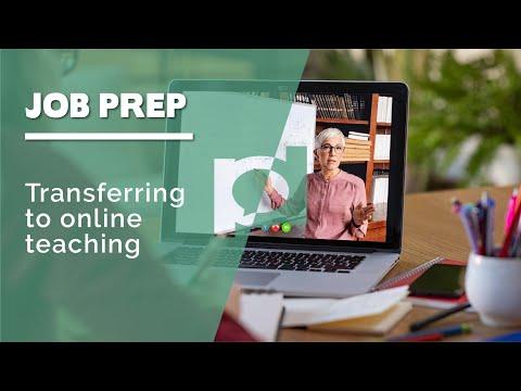 Transferring to Online Teaching