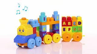 Mega Bloks ABC Musical Train- Smyths Toys