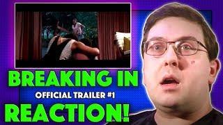 REACTION! Breaking In Trailer #1 - Gabrielle Union Movie 2018
