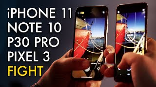 The Truth About iPhone 11 Night Mode [vs. Pixel 3 vs. Note 10 vs. P30 Pro]