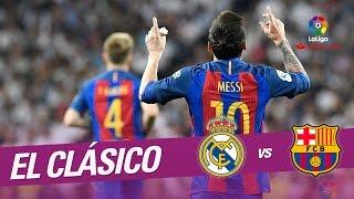 El Clásico - Gol de Messi (1-1) Real Madrid vs FC Barcelona