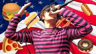 British Rocker Yungblud Tries Iconic American Foods