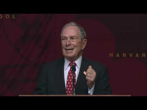2019 Class Day Distinguished Speaker Michael R. Bloomberg