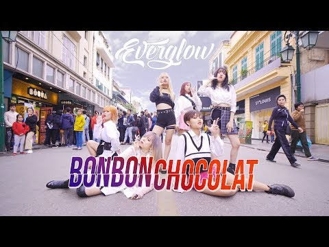 [KPOP IN PUBLIC CHALLENGE] Bon Bon Chocolat - EVERGLOW (에버글로우) dance cover by 17U from Vietnam