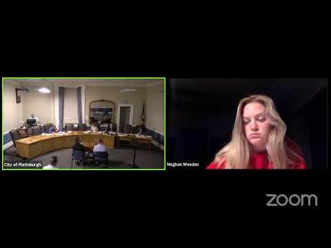 Plattsburgh Zoning Board of Appeals Meeting  6-21-21