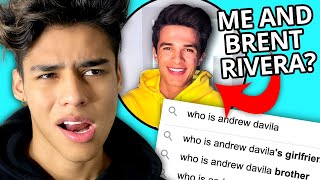 Andrew Davila Answers the Internet's Most Searched Questions
