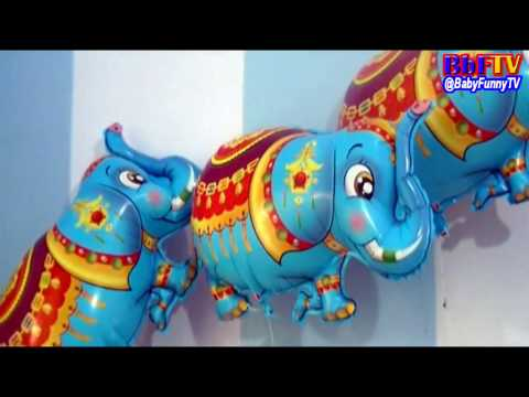 Balon Karakter Gajah - Balloons Character Elephant Toys Kids