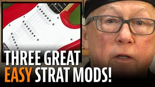 Watch the Trade Secrets Video, 3 Easy Mods to Make Your Fender Squier Stratocaster Play Great!