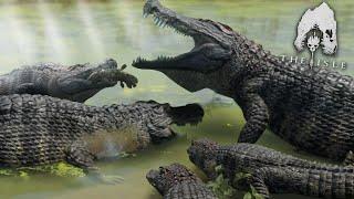 The Giant Crocodile Family!!! - The Isle