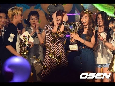 [ENG SUB] 130807 f(x) Show Champion Win+Encore