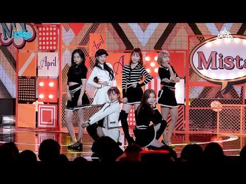 [예능연구소 직캠] 에이프릴 예쁜 게 죄 @쇼!음악중심_20181020 Oh! my mistake APRIL in 4K
