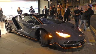 The BEAST has arrived, the $5Million Lamborghini CENTENARIO ROADSTER!