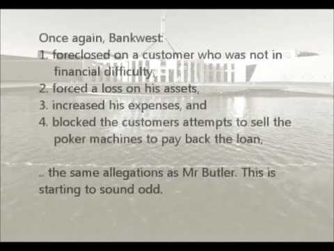 Too Big to Prosecute Pt 2/10 - Bankwest CBA Corruption