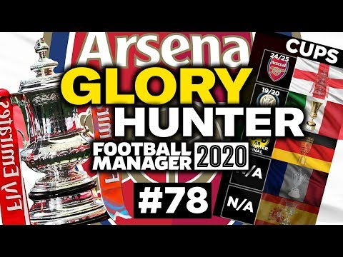 GLORY HUNTER FM20   #78   THE FA CUP FINAL!   Football Manager 2020