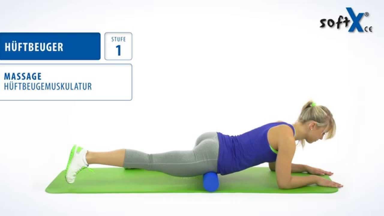 softX® Faszien-Training_Massage - Hüftbeuger - YouTube