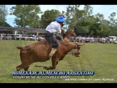 HOMENAJE AL MENCHO ARGENTINO-FONDO MUSICAL: