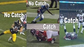 How to Fix the NFL Catch Rule