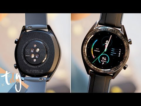 video Huawei Watch GT Sport – Reloj (TruSleep, GPS, monitoreo del ritmo cardíaco)