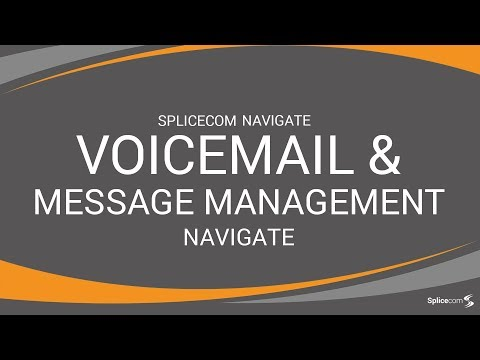 SpliceCom Navigate - Voice Mail & Message Management