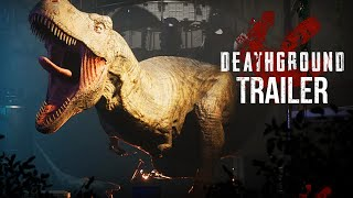 Deathground Trailer   NEW DINOSAUR SURVIVAL HORROR GAME (Trailer)