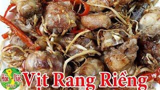 Cooking Duck Rang Rung Eat Do not Know No Good Flavor Vietnamese Food