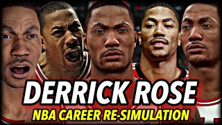 What If Derrick Rose NEVER GOT INJURED? I Reset The NBA To 2010 To Find Out... NBA 2K20