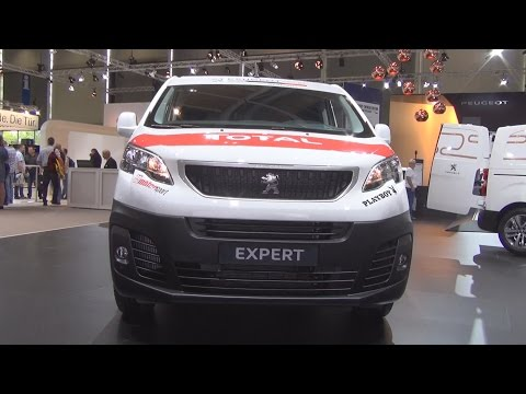Peugeot Expert Twincab Edition Premium L2 BlueHDi 150 Stop&Start (2017) Exterior and Interior in 3D