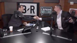 Giants select DANIEL JONES?! 😳David Diehl In-Studio   The Lefkoe Show