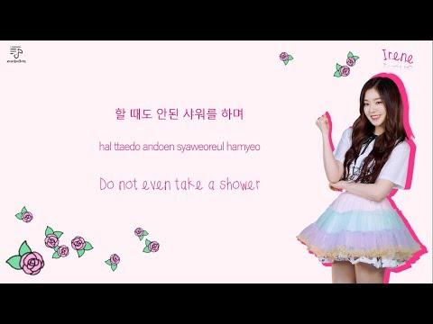 RED VELVET 레드벨벳 - Rebirth 환생 Color-Coded-Lyrics Han l Rom l Eng 가사 by xoxobuttons
