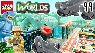 Let's Build LEGO Jurassic World: Part 16: Shark Tank: Let's Play LEGO Worlds