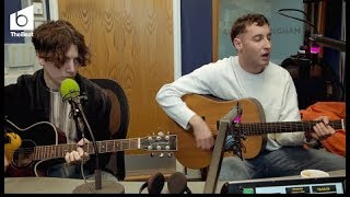 Sea Girls acoustic performance of  'Violet' and 'Call Me Out'