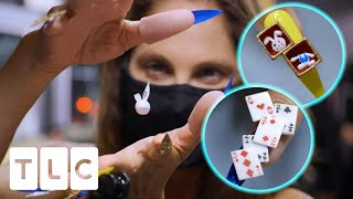 Lexi Makes A Rabbit Levitate From This Magician's Nails | Unpolished