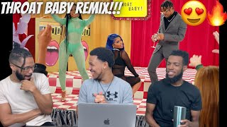 FIRE!!! BRS Kash - Throat Baby Remix feat. @DaBaby and @City Girls [Official Music Video] Reaction!!