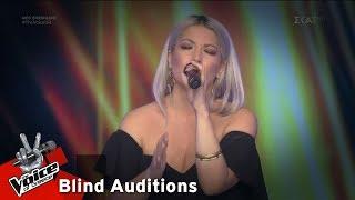 Ντόρις Θεοδωρίδη - Bad Romance   8o Blind Audition   The Voice of Greece