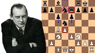 A Knight's Dream Home | Alexander Alekhine vs Emanuel Lasker 1934