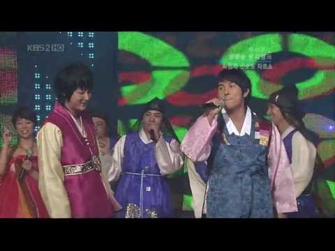 070921 Music Bank WanSung Trot Medley cut