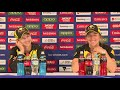 Meg Lanning & Georgia Wareham After Victory Over New Zealand
