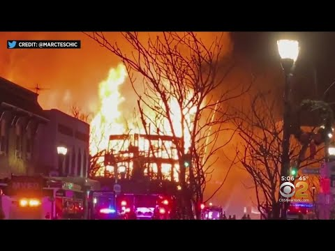 Witnesses: Towering Fire In Bound Brook 'Like An Action Movie'