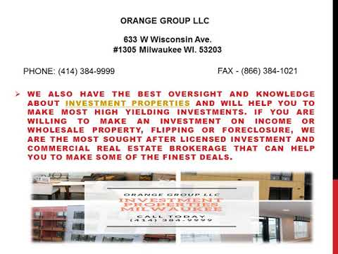 ORANGE GROUP LLC - Racine Property Management