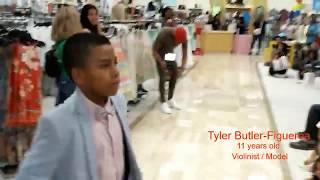 Dillard's Department Store Fashion Show (Raleigh, NC) Tyler Butler-Figueroa, Violinist
