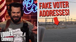 NO RETREAT! Exclusive PROOF of Voter Fraud | Louder with Crowder