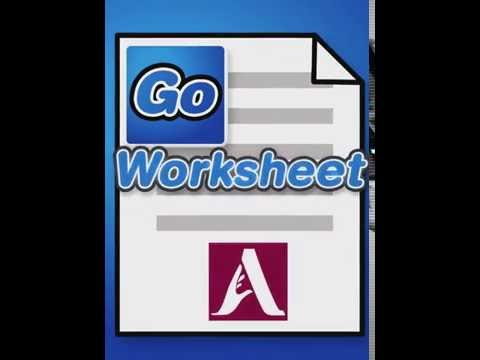 GoWorksheet: QuickStart