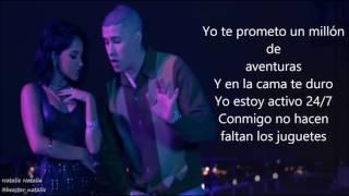 Becky G - Mayores ft. Bad Bunny (lyrics/letra)