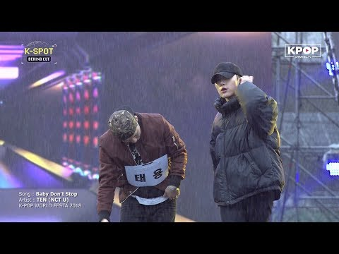 《NCT U》 TEN - Baby Don't Stop (Rehearsal @ K-POP World Festa 2018)