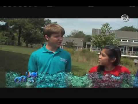 Sept 2009 Aquakids TV Show on BioHaven Floating Island wetlands.flv