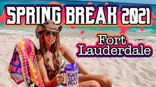 Fort Lauderdale Beach Spring Break 2021 ! ( Chit Show 4k)