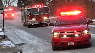 Top 25 Fire Truck Responses of 2018 - Best Of Sirens