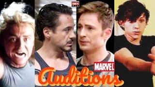 Marvel Actors Audition Tapes | MCU Actors Auditions For Their Marvel Role | Funny MCU Audition Tapes