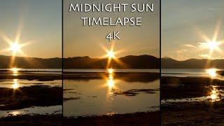Midnight Sun Timelapse | 4K | Alta, Finnmark, Norway